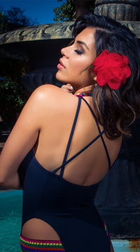 Yandy Ixtapa One Piece Swimsuit - Black