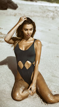 Yandy Twisted Vision One Piece Swimsuit - Black
