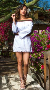 Yandy Sweet Senorita Cover-Up - White