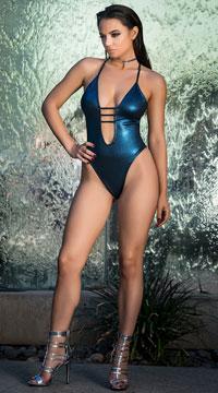 Yandy Celestial One Piece Swimsuit - Blue