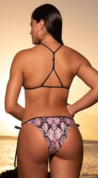 Yandy Slither & Slay String Bikini - as shown