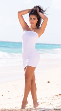Yandy Anchors Away Multi-Way Cover-Up - White