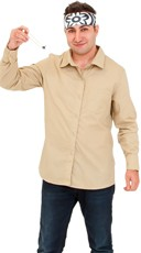 Yandy Men's Karate Master Costume - Khaki