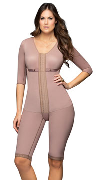 Plus Size Full Body Makeover Bodyshaper - Mocha