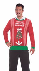 Under the Mistletoe Sweater - Red