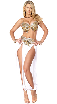 Harem Nights Costume - White