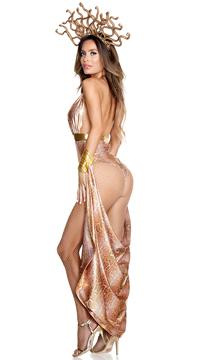 Slither Goddess Costume - Gold