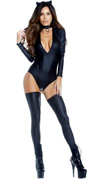Feisty Feline Costume - Black