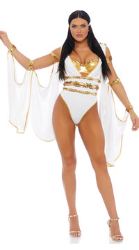Glo' My Goddess Costume