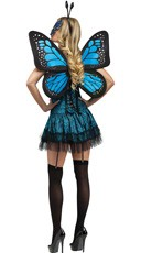 Butterfly Baby Costume - Turquoise