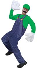 Men's Video Game Guy Costume - Green