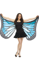 Soft Butterfly Wings - Teal