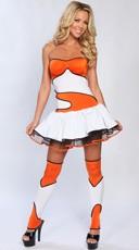 Yandy Finding Clownfish Costume - Orange/White/Black
