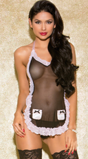 Sweet Surprise Maid Apron - Black