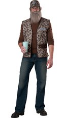 Duck Dynasty Uncle Si Costume - Camouflage
