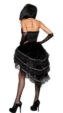 Deluxe Vampire Vixen Costume - Black/Red