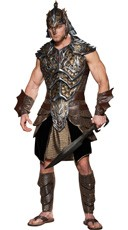 Deluxe Dragon Lord Costume - Brown