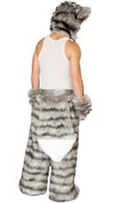 Yandy Men's Rave Wolf Costume - as shown