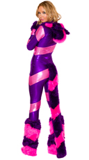 Fiesty Cheshire Cat Costume - as shown