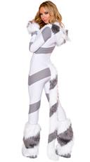 Gray Pretty Kitty Cat Costume - as shown