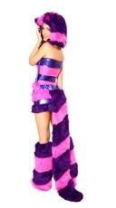 Wonderland Cheshire Cat Rave Costume - as shown