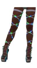 Light-Up Leg Wraps - Green/Blue