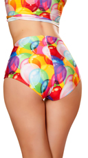 High Waisted Balloon Shorts - Balloons