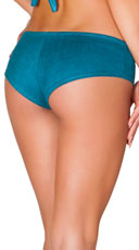 Basic Faux Suede Short - Teal