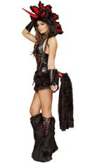 Deluxe Black Magic Unicorn Costume