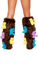 Dare Bear Leg Warmers - Brown