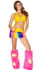 Rainbow Raver Set - as shown