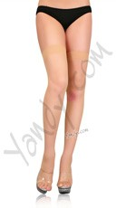 Plus Size Sheer Stocking - Nude