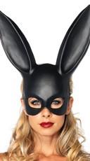 Bondage Bunny Mask - Black