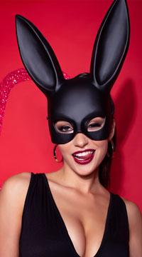 Bondage Bunny Mask - as shown