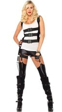 SWAT Costume Harness - Black