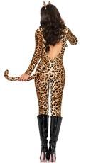Sexy Cougar Costume - Leopard Print