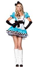 Charming Alice Costume - Blue/White