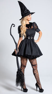 Sexy Bewitched Costume - Black