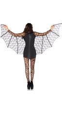 Sexy Black Bat Costume - Black