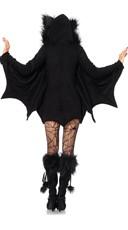 Fleece Bat Costume - Black