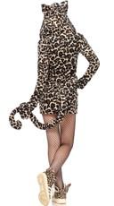 Fleece Leopard Costume - Leopard