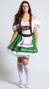 Plus Size Oktoberfest Sweetie Costume