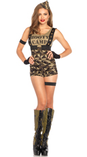 Booty Camp Cutie Costume - Camouflage