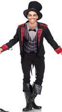 Men's Sinister Ring Master Costume