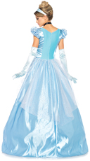 Classic Blue Princess Costume - Blue