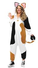 Calico Cat Kigarumi Onesie Costume