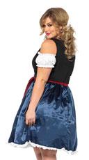 Plus Size Beer Fest Beauty Costume