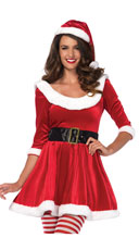 Santa Sweetie Costume - Red/White