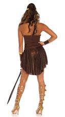 Golden Gladiator Costume - Brown