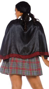 Plus Size Spellbinding School Girl Costume - Multi